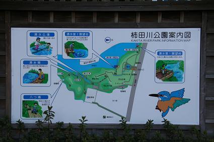 柿田川公園案内図