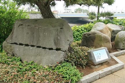 江戸城 築城石