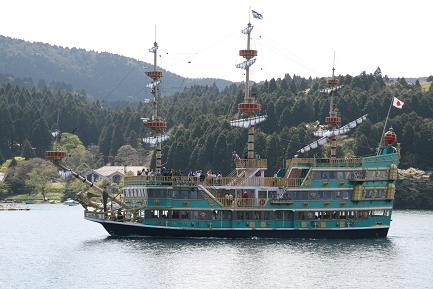 遊覧船です。