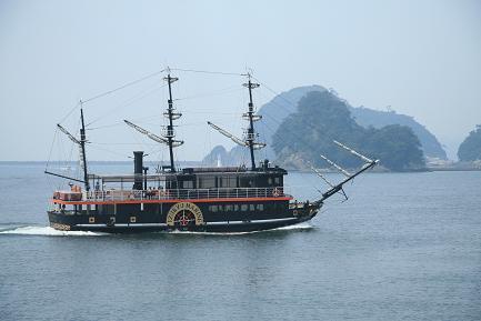 遊覧船 「サスケハナ号」