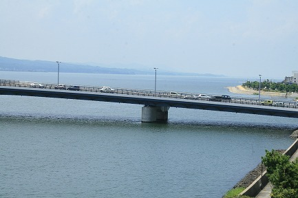 宍道湖です。