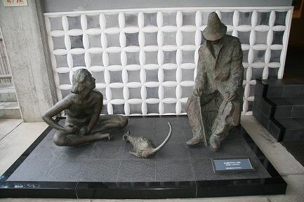 彫刻展示品です。
