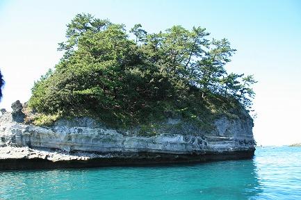 堂ヶ島の風景-2 蛇島