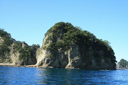 堂ヶ島の風景−5 象島