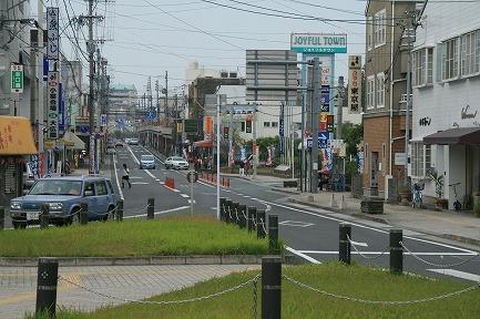 鳥栖駅前の商店街