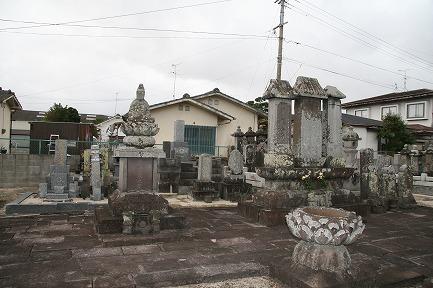 成富家の墓