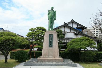 大隈重信候の銅像