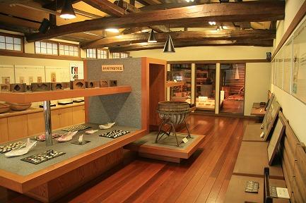 二階展示室です。