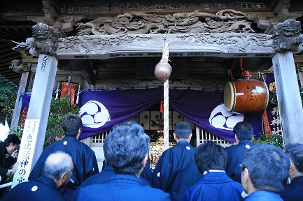 新井神社 裸まつり-2