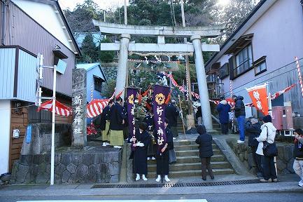 新井神社 裸まつり-3