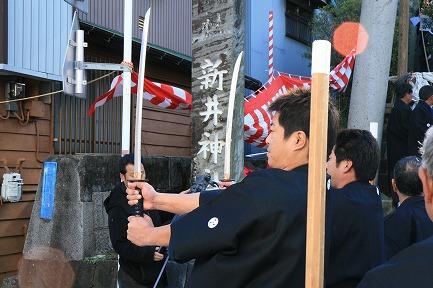 新井神社 裸まつり-5