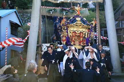 新井神社 裸まつり-6