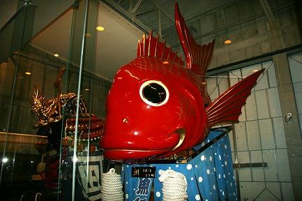 5番曳山 鯛