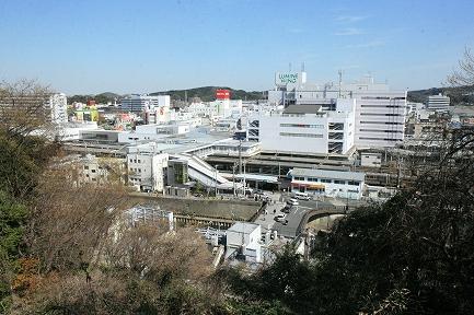 眼下のJR大船駅です。