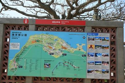 海洋博公園全体図