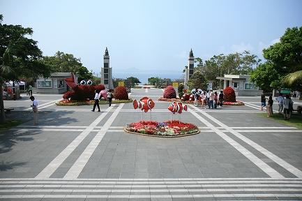 入口前広場です。