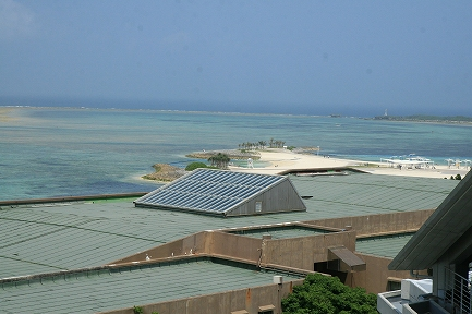 水族館からの風景です。