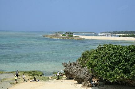 素晴しい景観、エメラルドビーチです