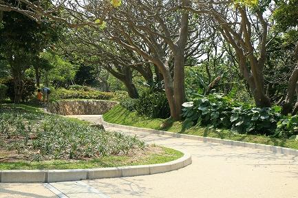 園内散策路