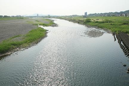 渡良瀬川の上流
