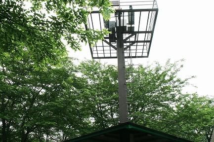 太陽光観測塔