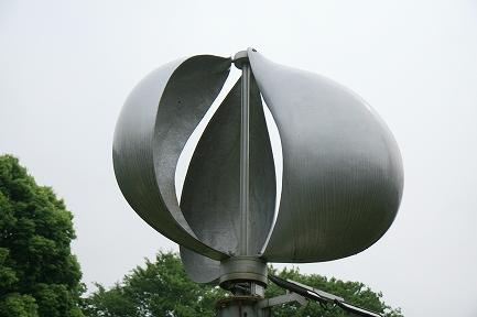 ドイツ製風力発電機