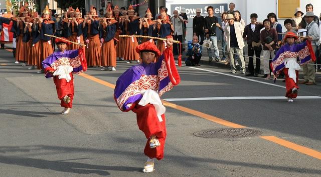 鹿島踊り-1