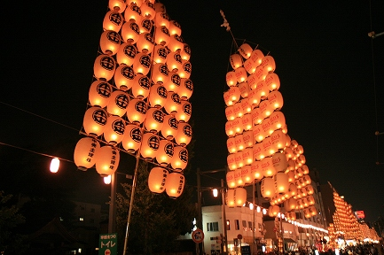 秋田竿燈まつり-2
