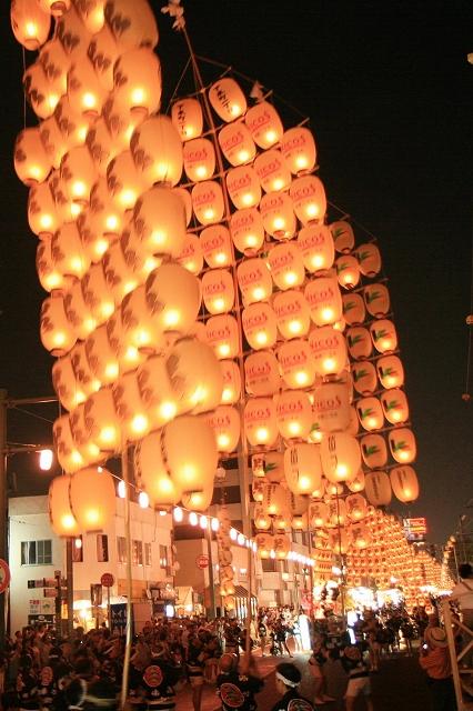 秋田竿燈まつり-1