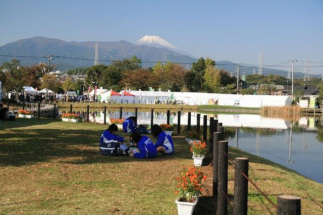 門池から冨士山