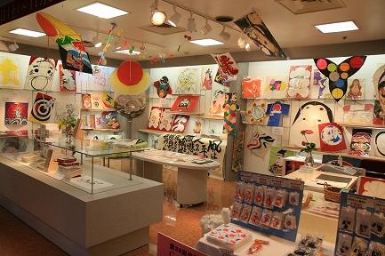 日本の凧展示