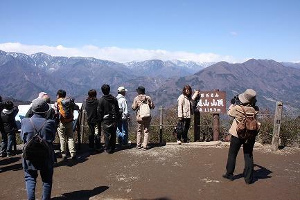 身延山頂からの眺望-2