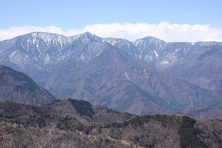 身延山頂からの眺望-3