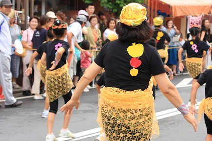 みしまサンバパレード-9