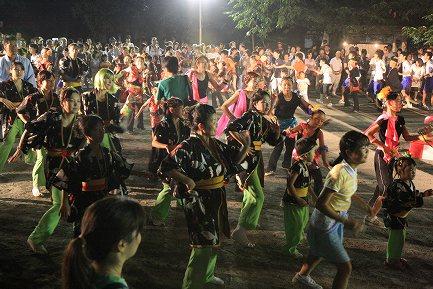 みしまサンバ踊り大会-2