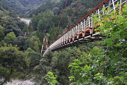 球泉洞吊橋-1