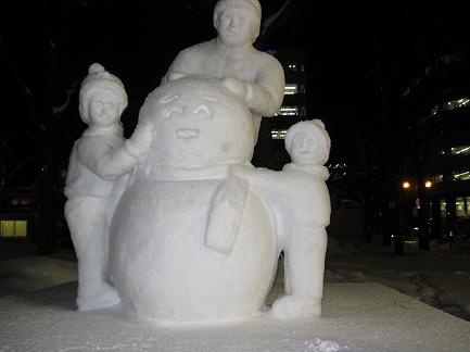 さっぽろ雪まつり-3