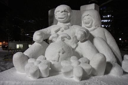 さっぽろ雪まつり-5
