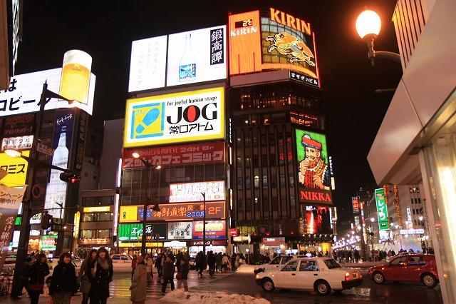 夜の札幌-5