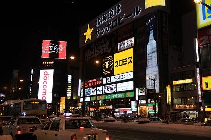 夜の札幌-6