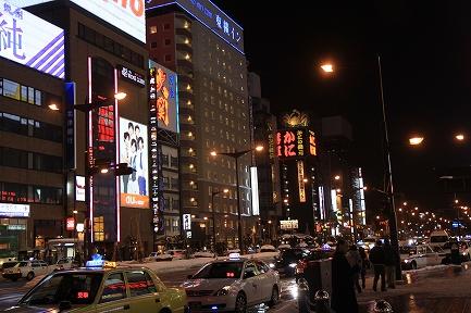 夜の札幌-7