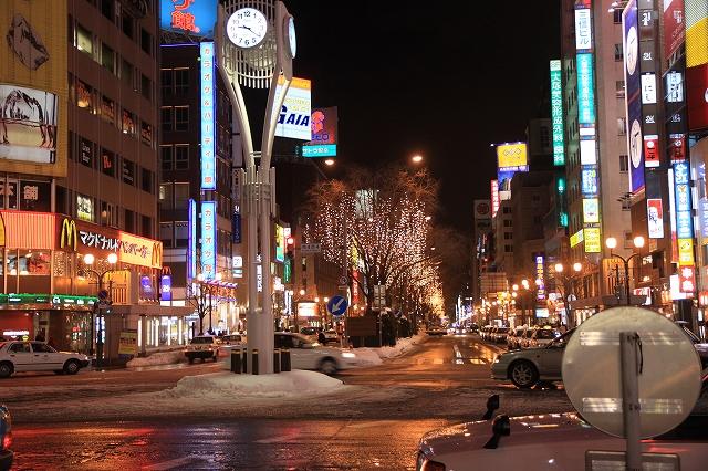 夜の札幌-8