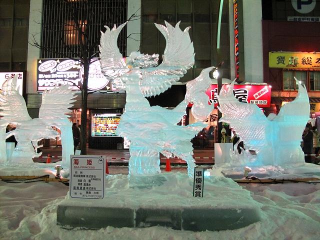 すすきの氷の祭典-4