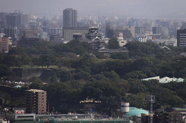 本妙寺公園からの眺望