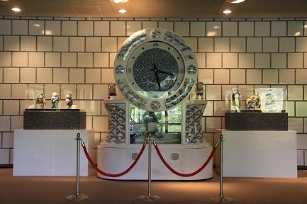 からくりオルゴール時計-1