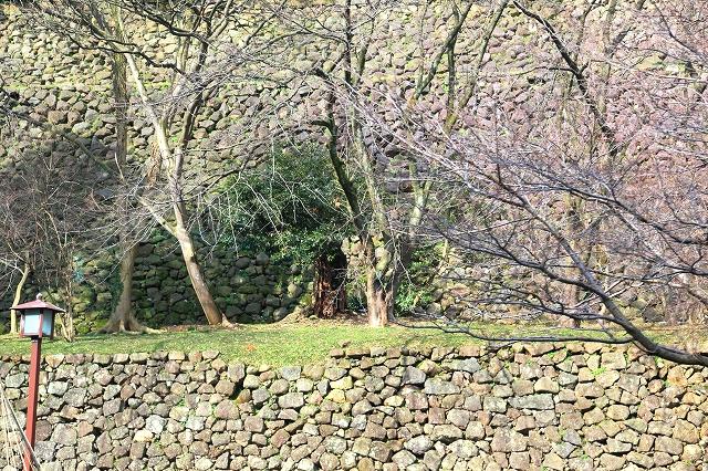 旧金沢城の石垣