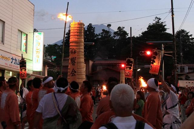 吉田の火祭り-7