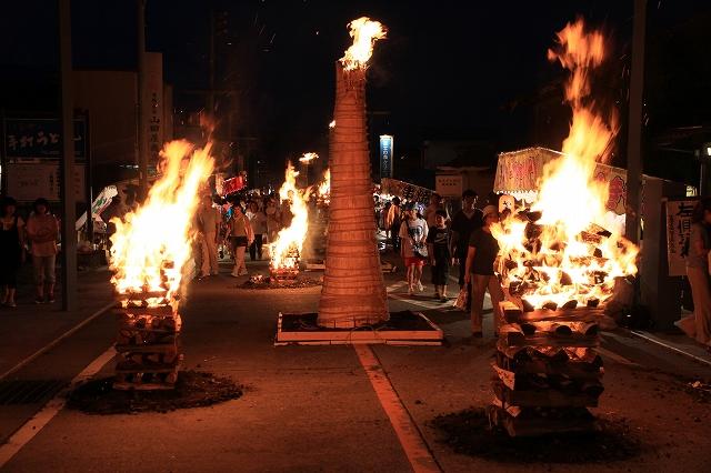 吉田の火祭り-9