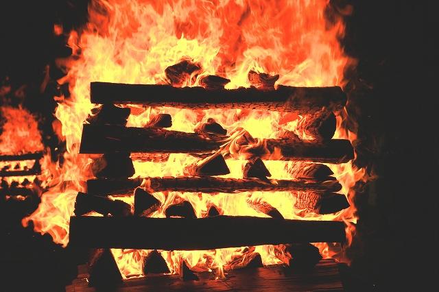 吉田の火祭り-10