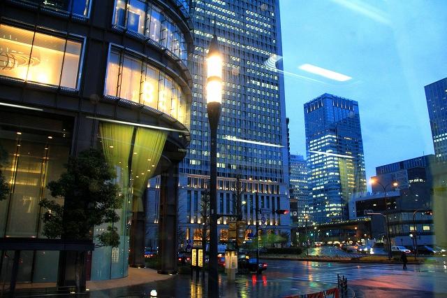 夕暮れの東京